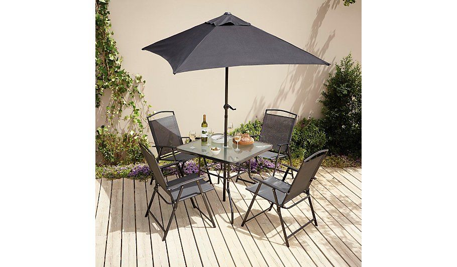 Buy Miami 6 Piece Patio Set from our Garden Furniture range today from  George at ASDA. - Buy Miami 6 Piece Patio Set From Our Garden Furniture Range Today