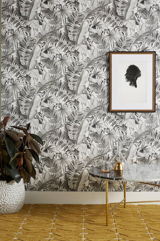 Al Fresco Wallpaper By Anthropologie In Black Wall Decor Unique Wallpaper Amazon Home Decor Decor