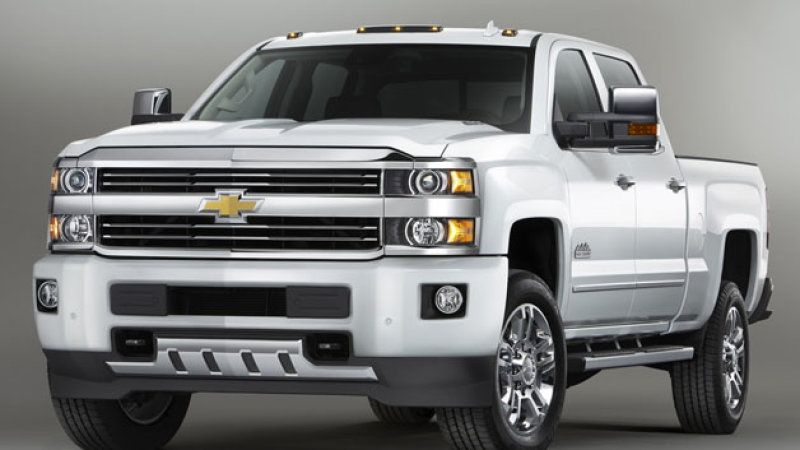 Chevy Rolls Out Silverado Hd High Country Silverado High Country