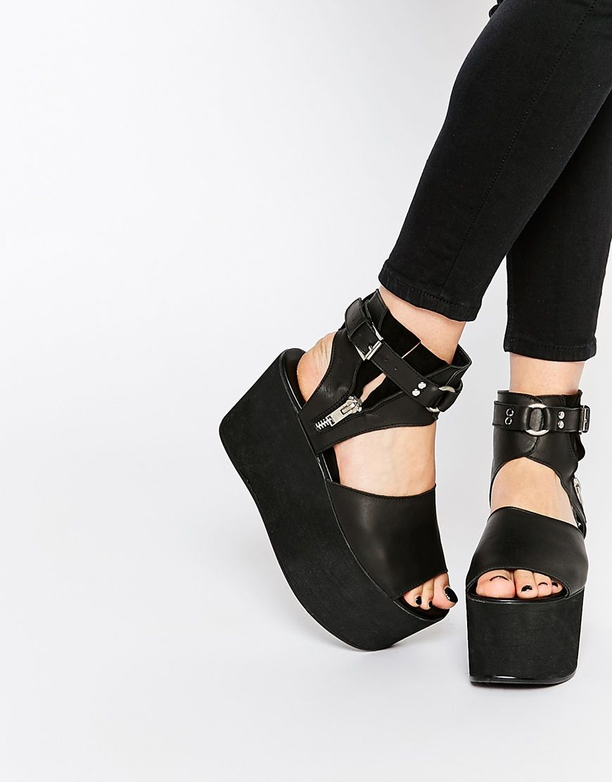 Buy Women Shoes / Unif Morph Flatform Sandals