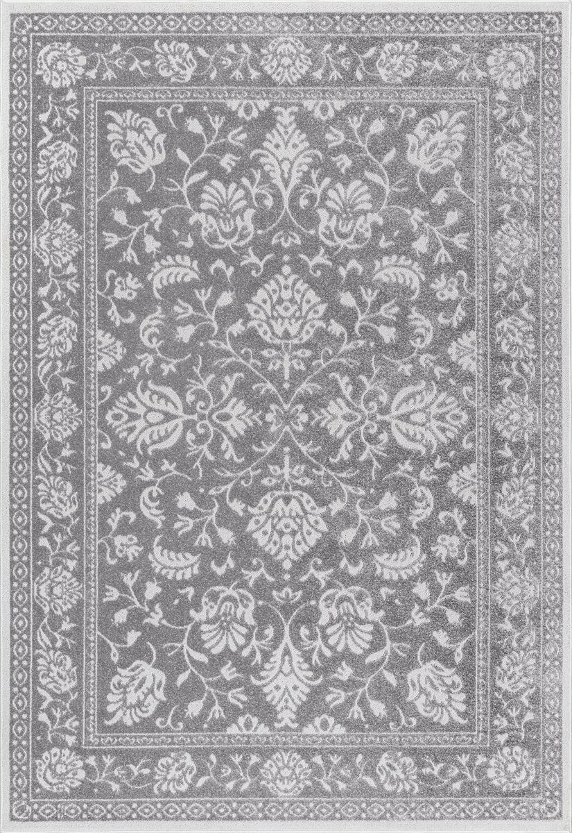 Arearugs Com Nakra Thiu64i 5 0 X 8 0 Dark Grey Area Rug Products In 2019 Floral Area Rugs Rugs Home Decor