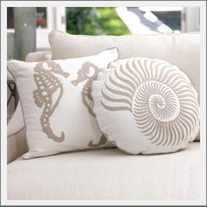 coastal style pillows