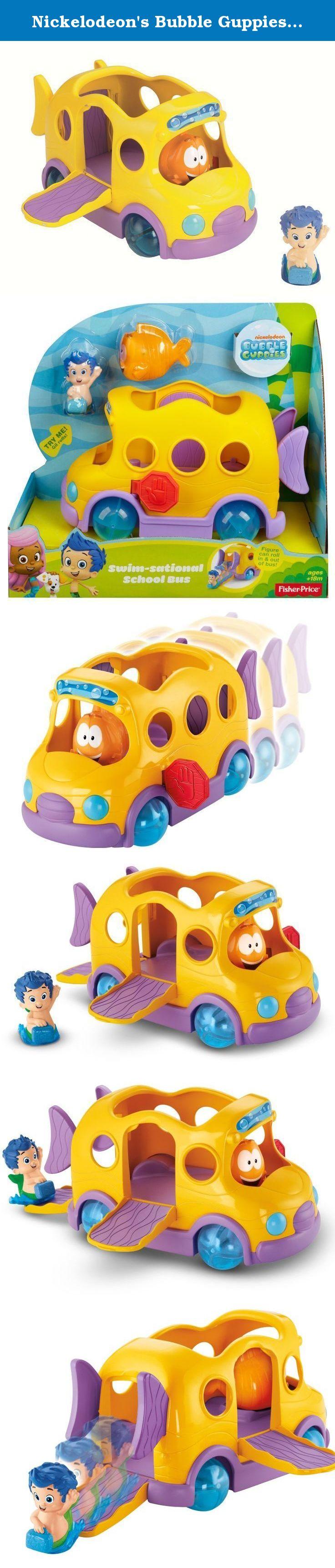 Nickelodeons Bubble Guppies Swim Sational School Bus When Its