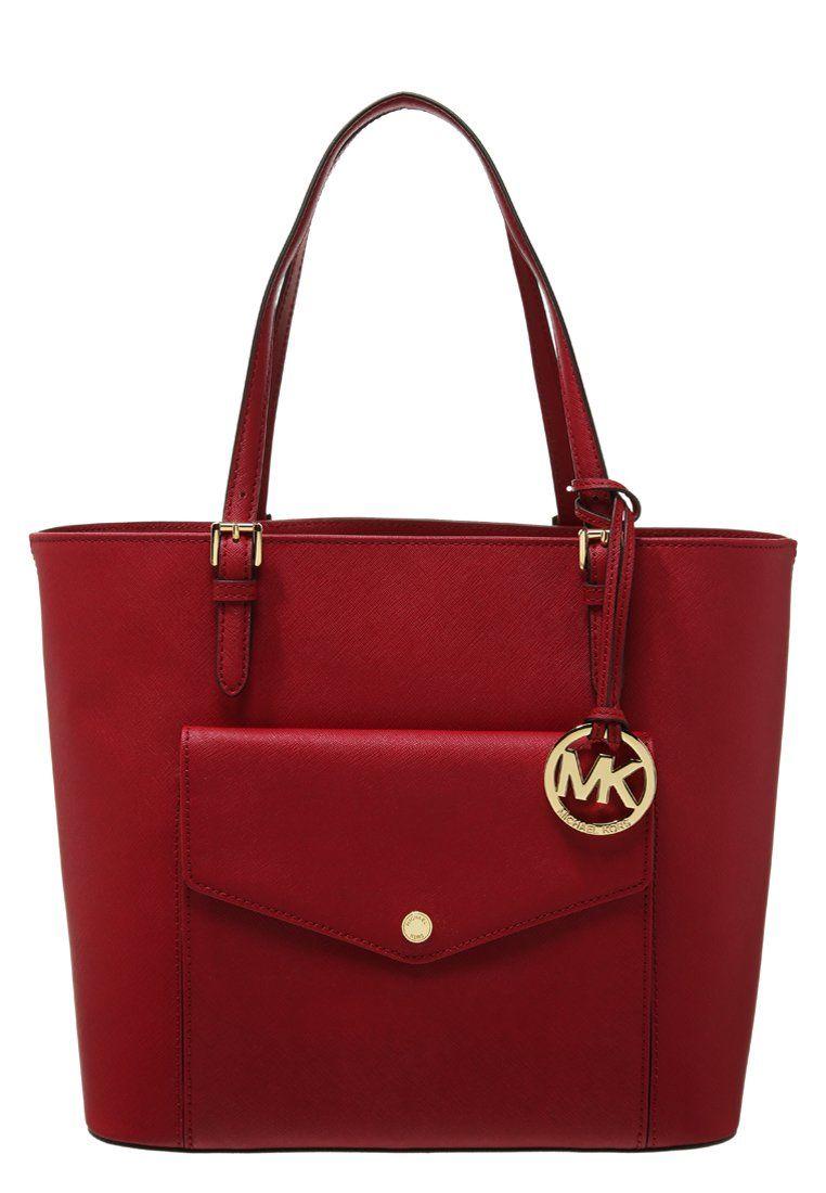 e476a765c546f MICHAEL Michael Kors JET SET ITEM Torba na zakupy cherry | Shopper ...