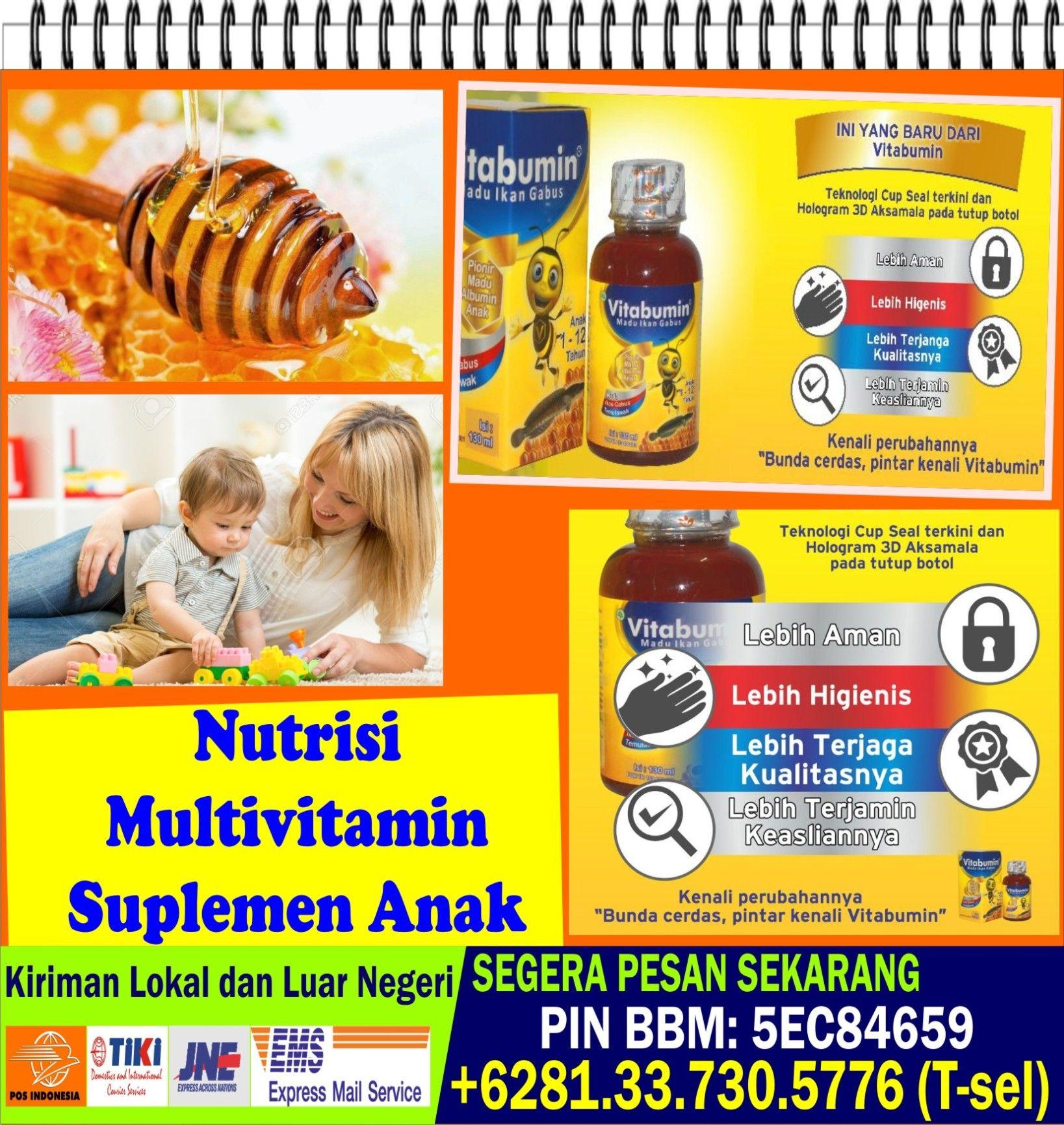 Asupan Gizi Anak Asupan Gizi Anak Balita Vitabumin Madu Vitamin