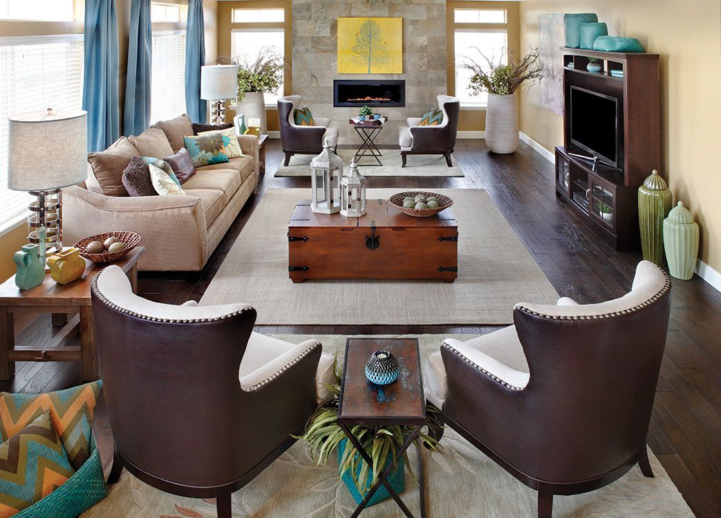 Tips for updating your living room arrangement living for Family room arrangements