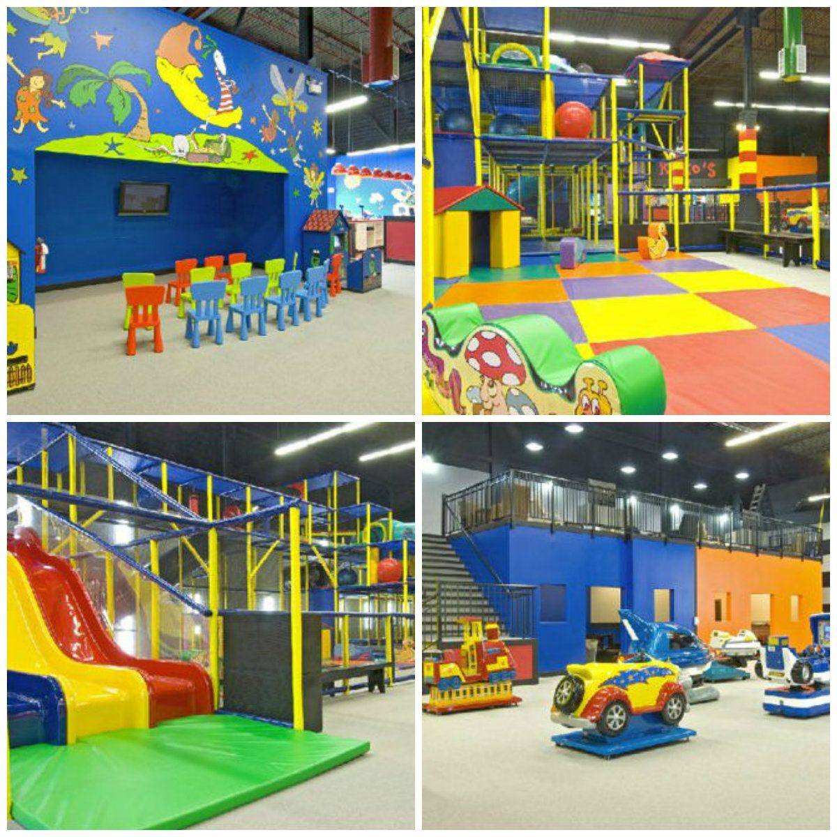 Best indoor playgrounds in Canada Kids indoor playground
