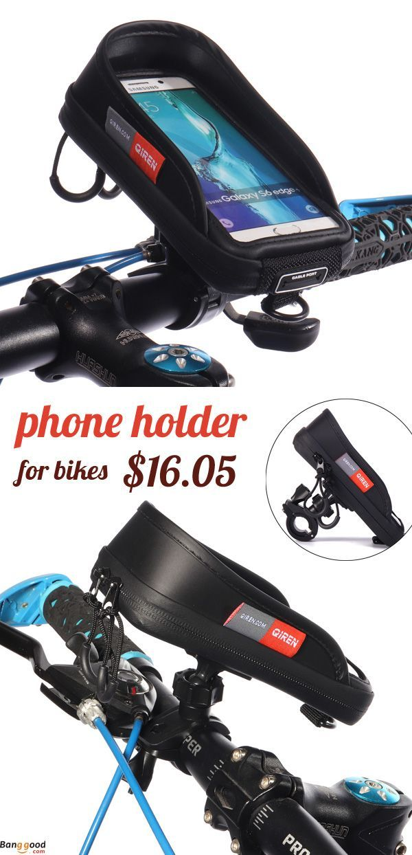 """4/""""//5/""""//5.5/""""//6.3/"""" Bicycle Cycling Bike Frame Pannier Bag Mobile Phone Pouch Holder"""
