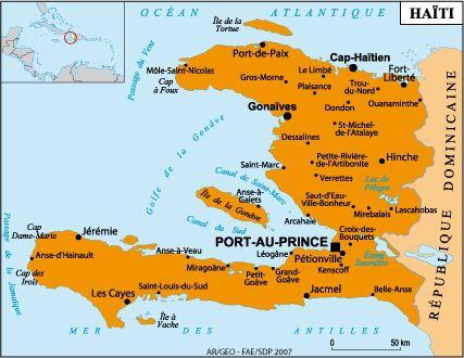 Haiti Map Of World