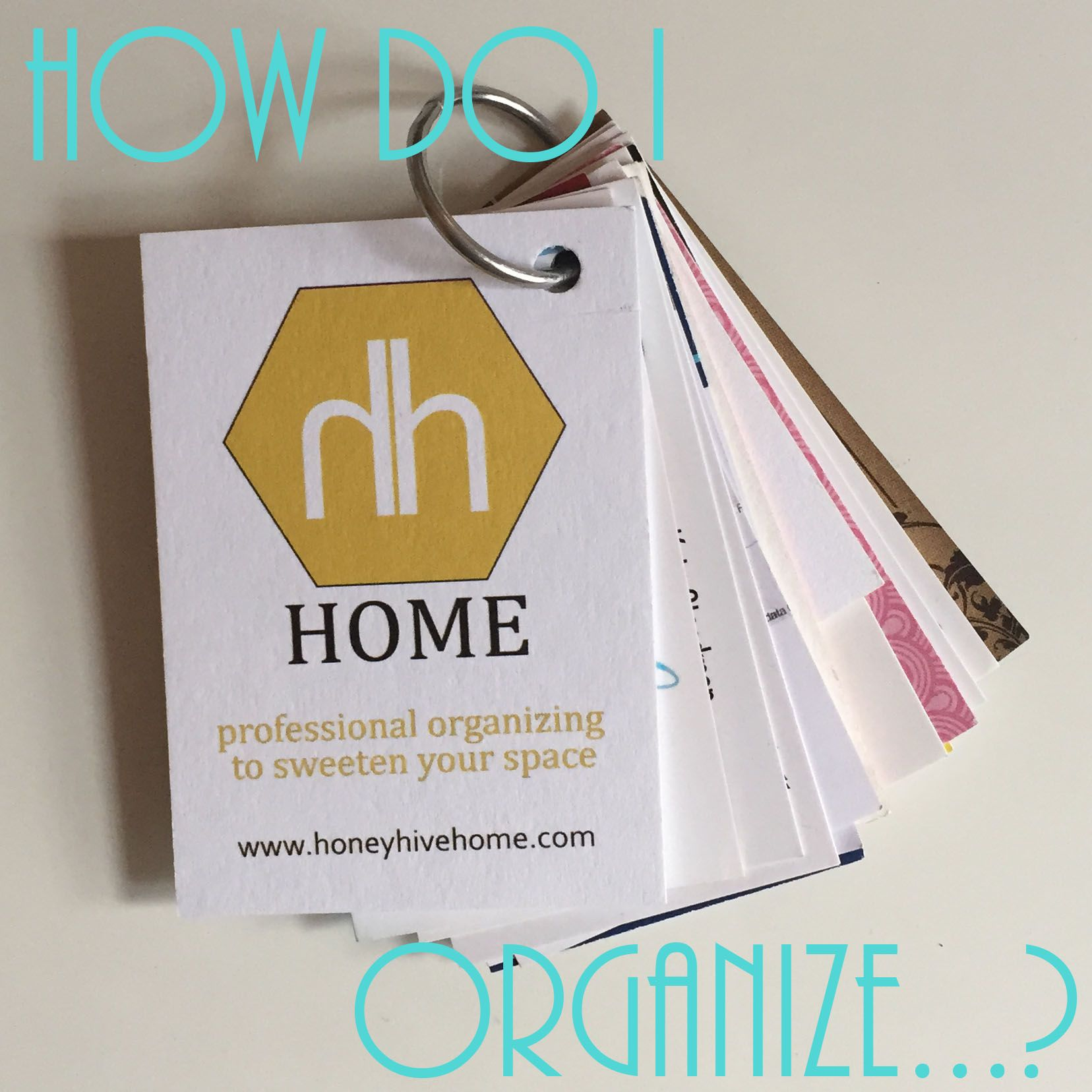 How to organize business cards an organized life pinterest how to organize business cards colourmoves