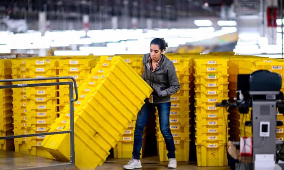 I M Not A Robot Amazon Workers Condemn Unsafe Grueling