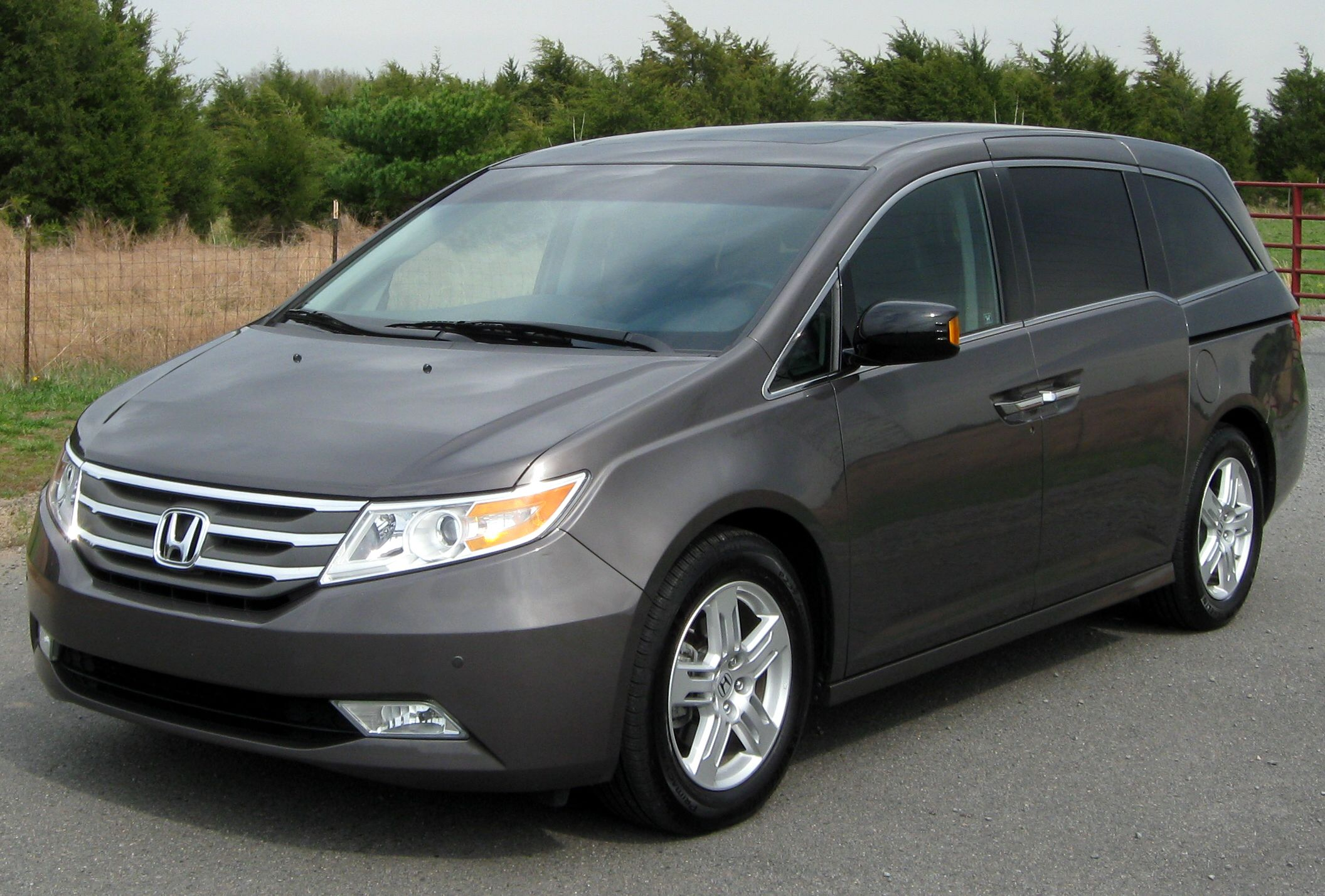 Honda Odyssey a car that is featured by the car pany Honda and