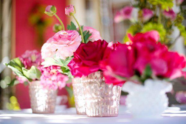 Pink and Green Whimsical Wedding Wedding Flowers Photos on WeddingWire