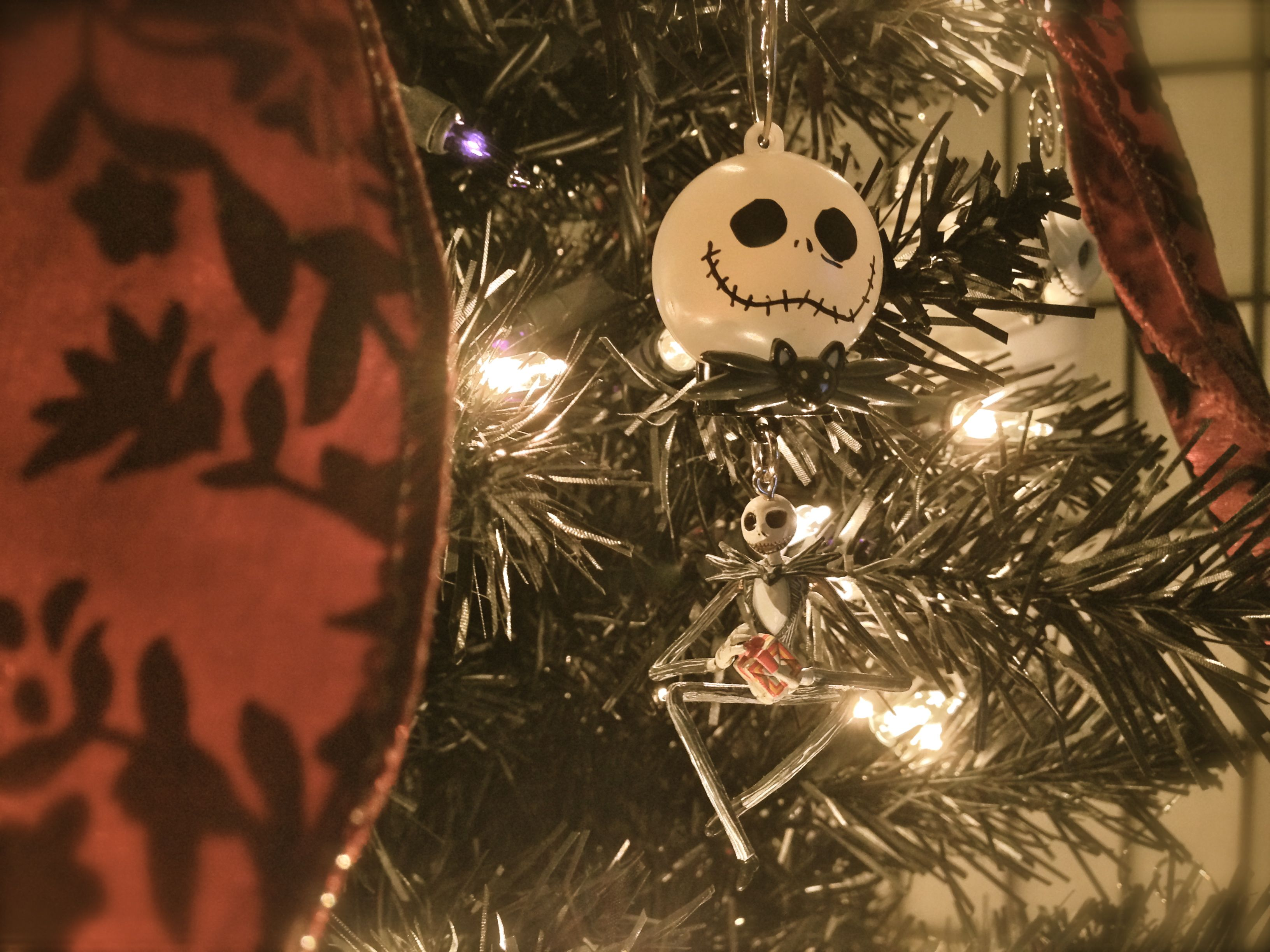 Our Annual Nightmare Before Christmas Tree Halloween ~ Xmas (2013)