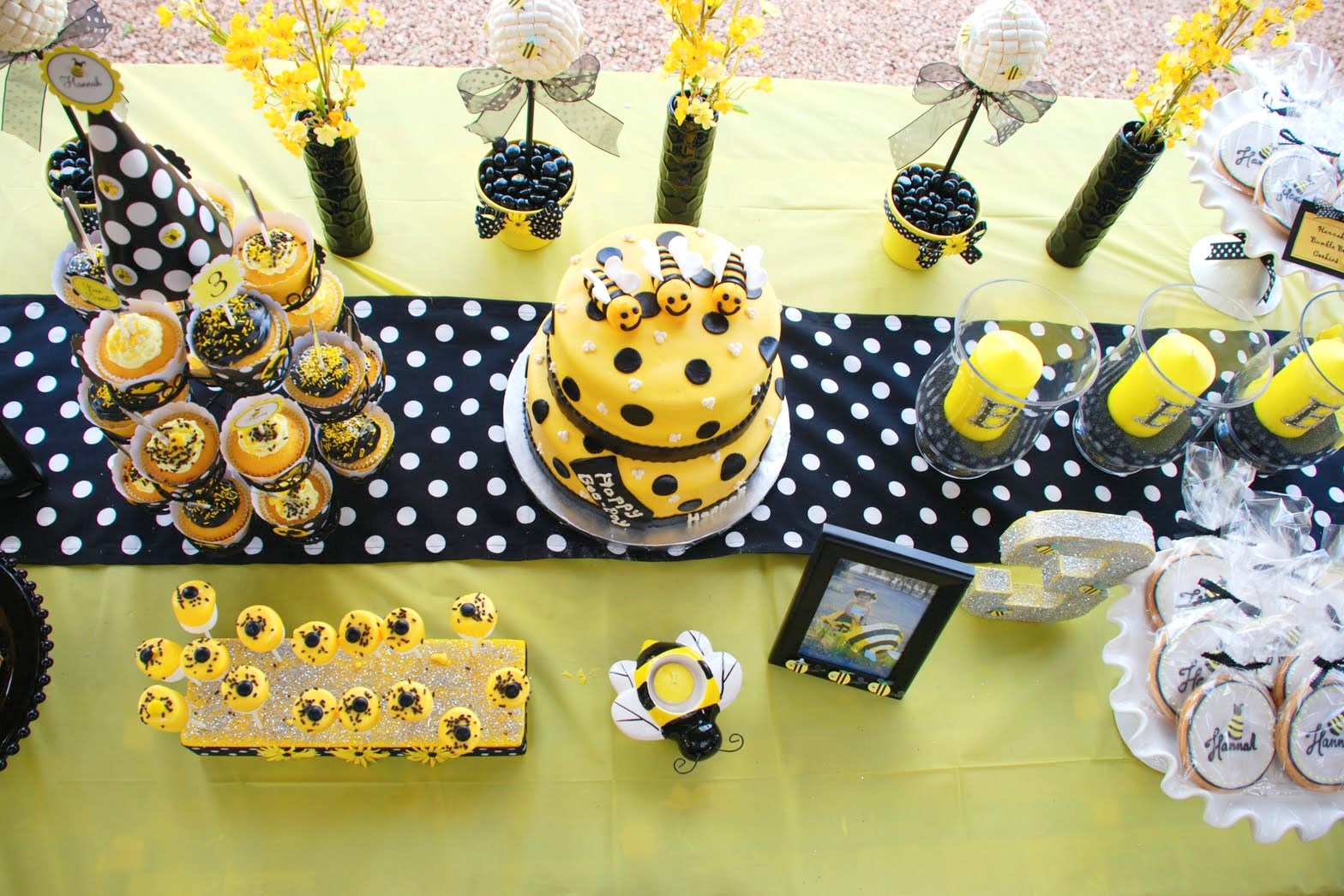 Preppy Bumblebee Party Lindley Is 2