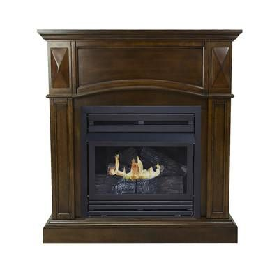 Vent Free Recessed Natural Gas Propane Fireplace Insert In 2019