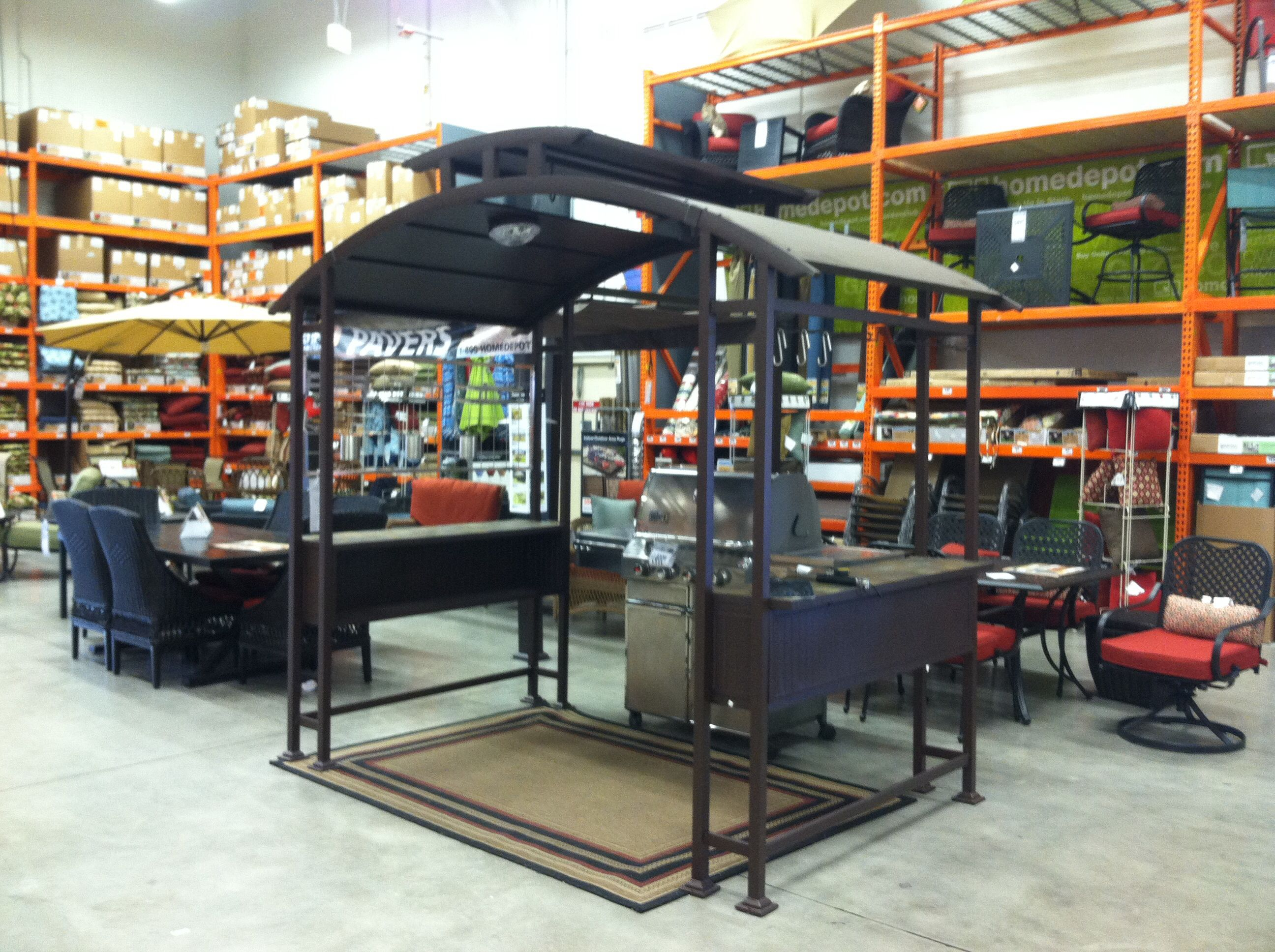 Walker Grill Gazebo Home Depot for $899 For the Home