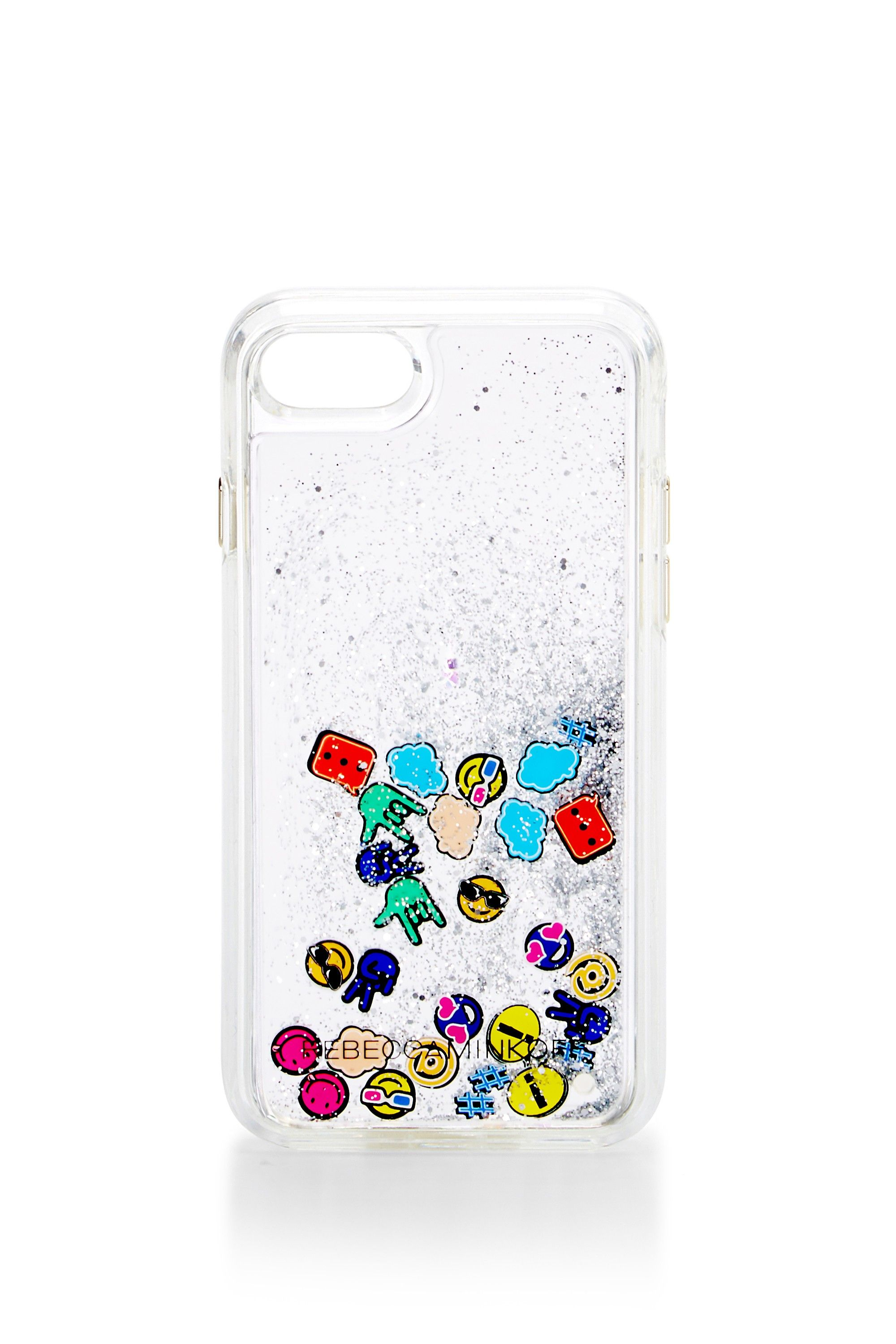Emojis Glitterfall Case For Iphone 7 - Protect your phone in style with this durable phone case. Compatible with iPhone 7.