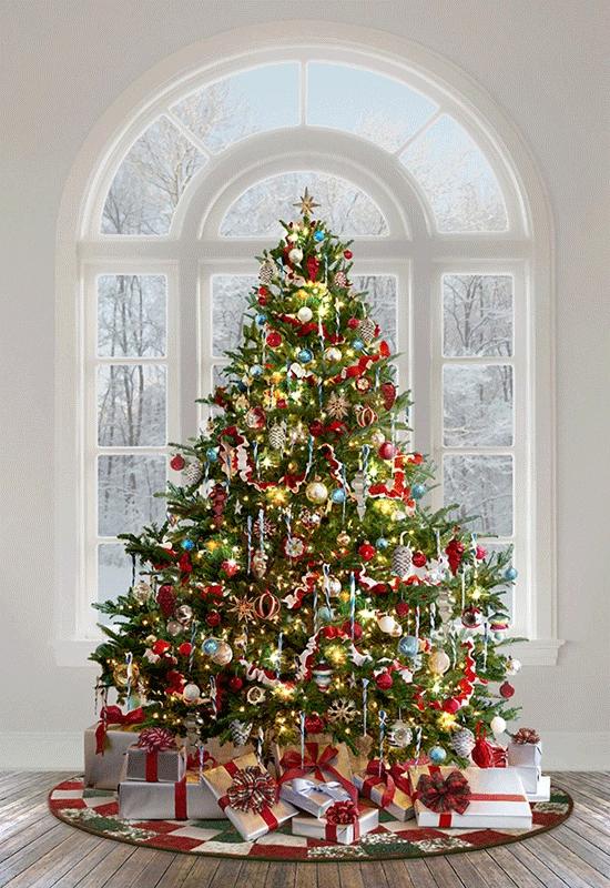 Hoffman Ol St. Nick Panel R4571 161 Christmas #rustikaleweihnachtentischdeko