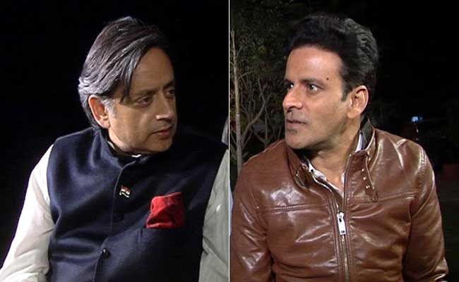 Shashi Tharoor & Manoj Bajpayee United in Gay Rights Cause - 24 India News An English online News web portal