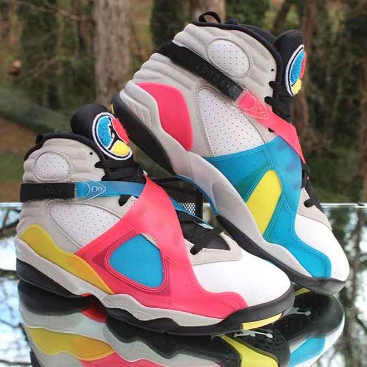 Pin on Air Jordan 8 Retro Sneaker