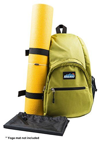 477c4619a8 Yoga Backpack for Women and Men Waterproof Crossbody Sling Bag EDC Day Pack  for Yoga Sports Gym Travel Hiking Biking Green    Click image to review  more ...