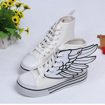 Cute Wings Canvas Shoes Cute Kawaii Harajuku Fashion Clothing U0026 Accessories  Website. Sponsorship Review U0026  Clothing Sponsorship