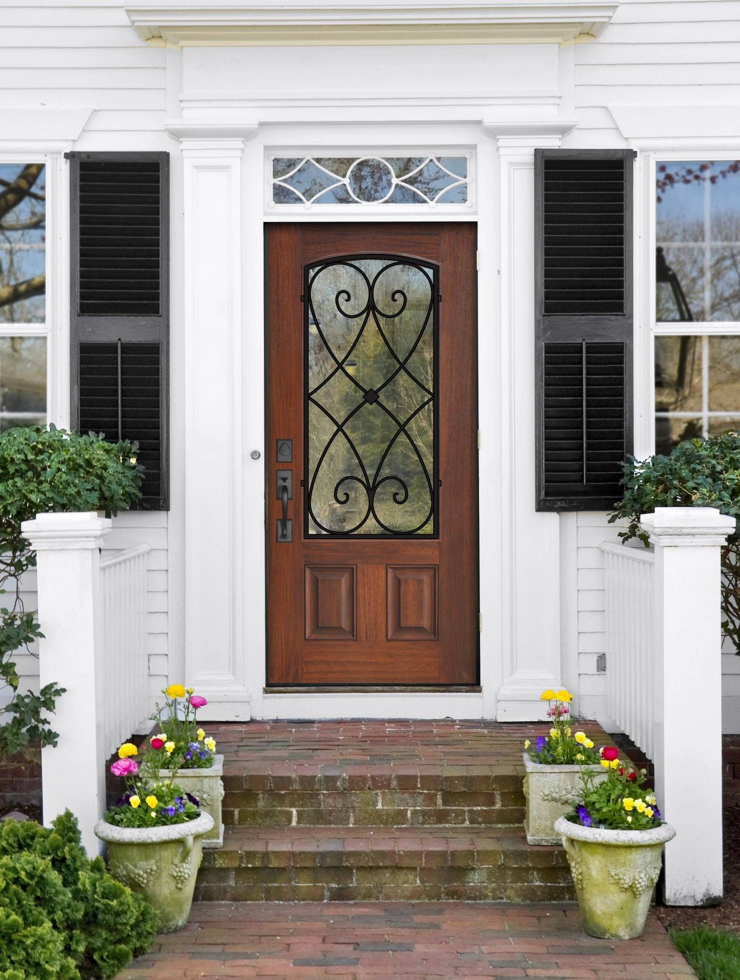 All About Fiberglass Entry Doors Front Door Design Pinterest