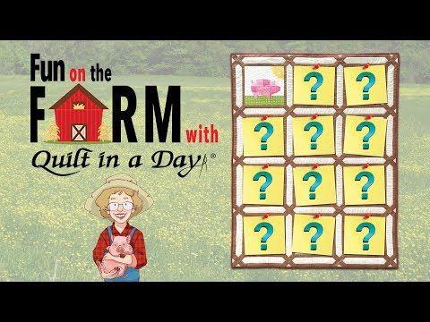 YouTube | Quilting | Quilt block patterns, Farm quilt, Quilt