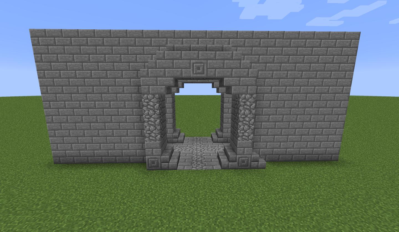 castle entrance minecraft - Google Search | Minecraft | Minecraft