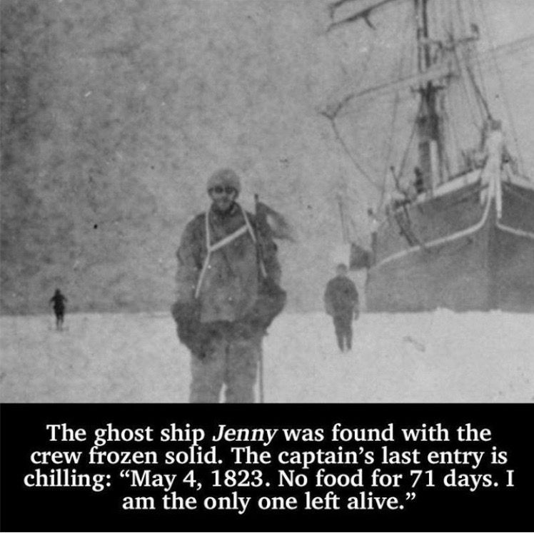 Creepy facts by amy on random facts tidbits ghost ship