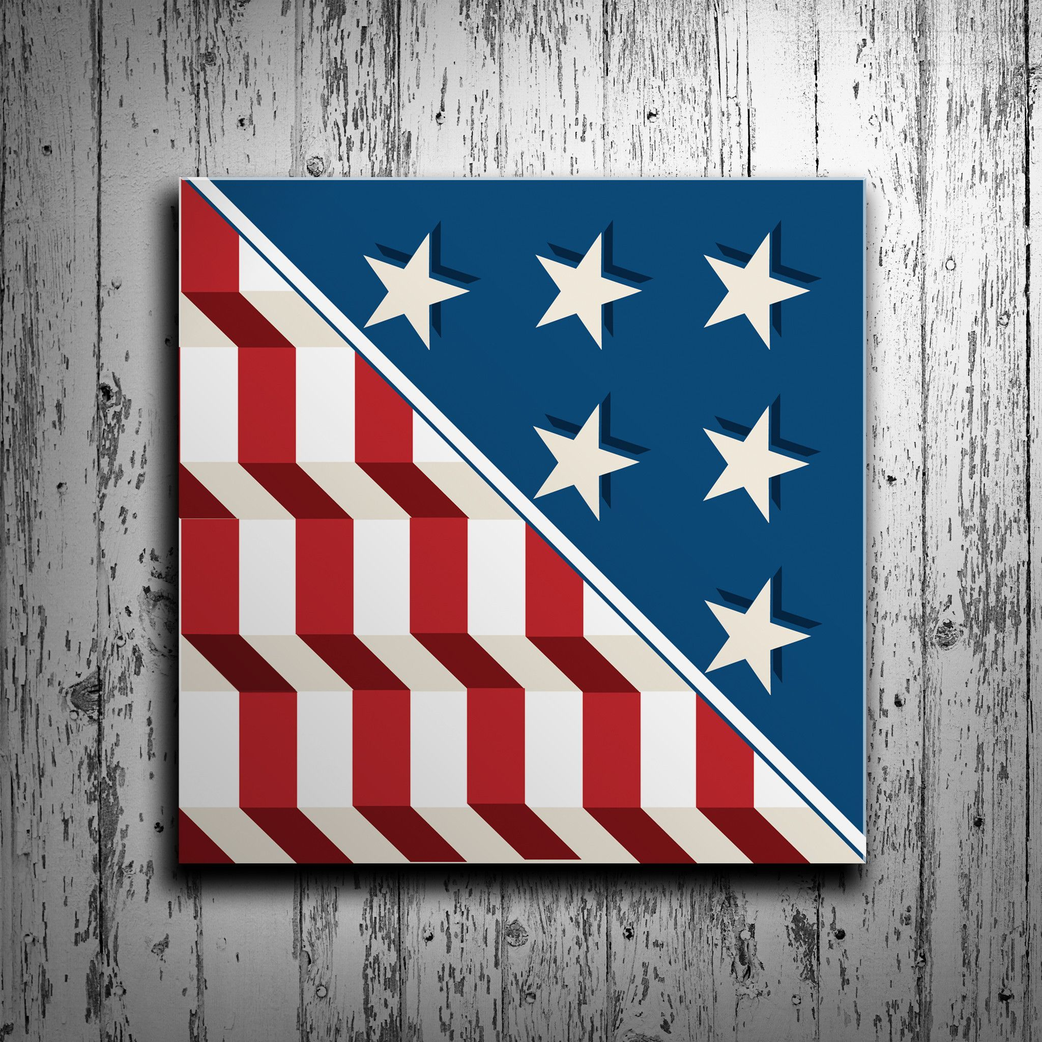 Made In The Usa Free Shipping This American Flag Barn Quilt Is The Perfect Addition To Your Exteri Painted Barn Quilts Barn Quilt Designs Barn Quilt Patterns