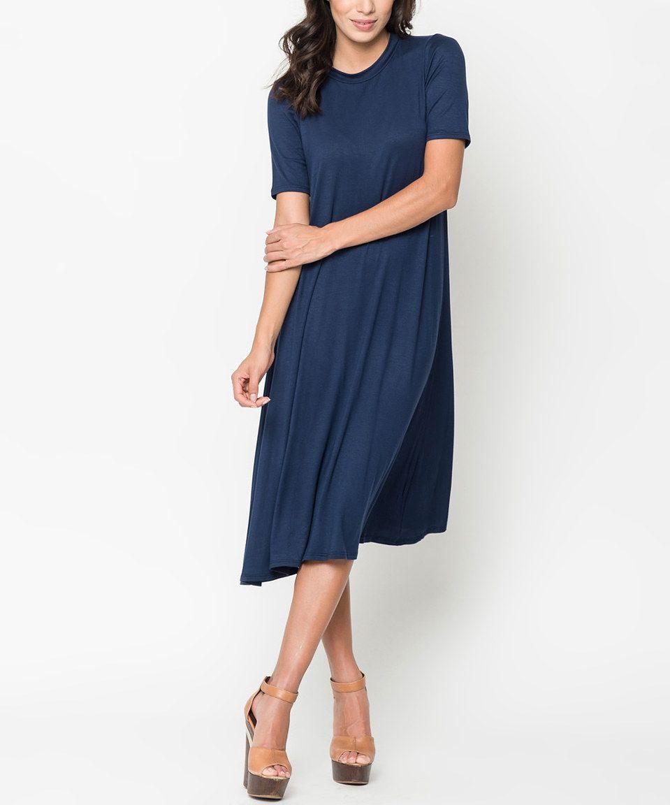 Caralase Navy Jersey Midi Dress Women Womens Midi Dresses Navy Midi Dress Midi Dress [ 1152 x 959 Pixel ]
