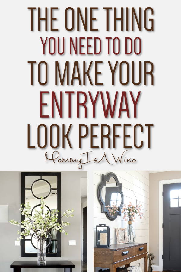 Entryway Table Ideas The One Thing