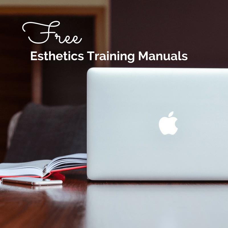 Free Esthetics Technical Training Modules Nail tech