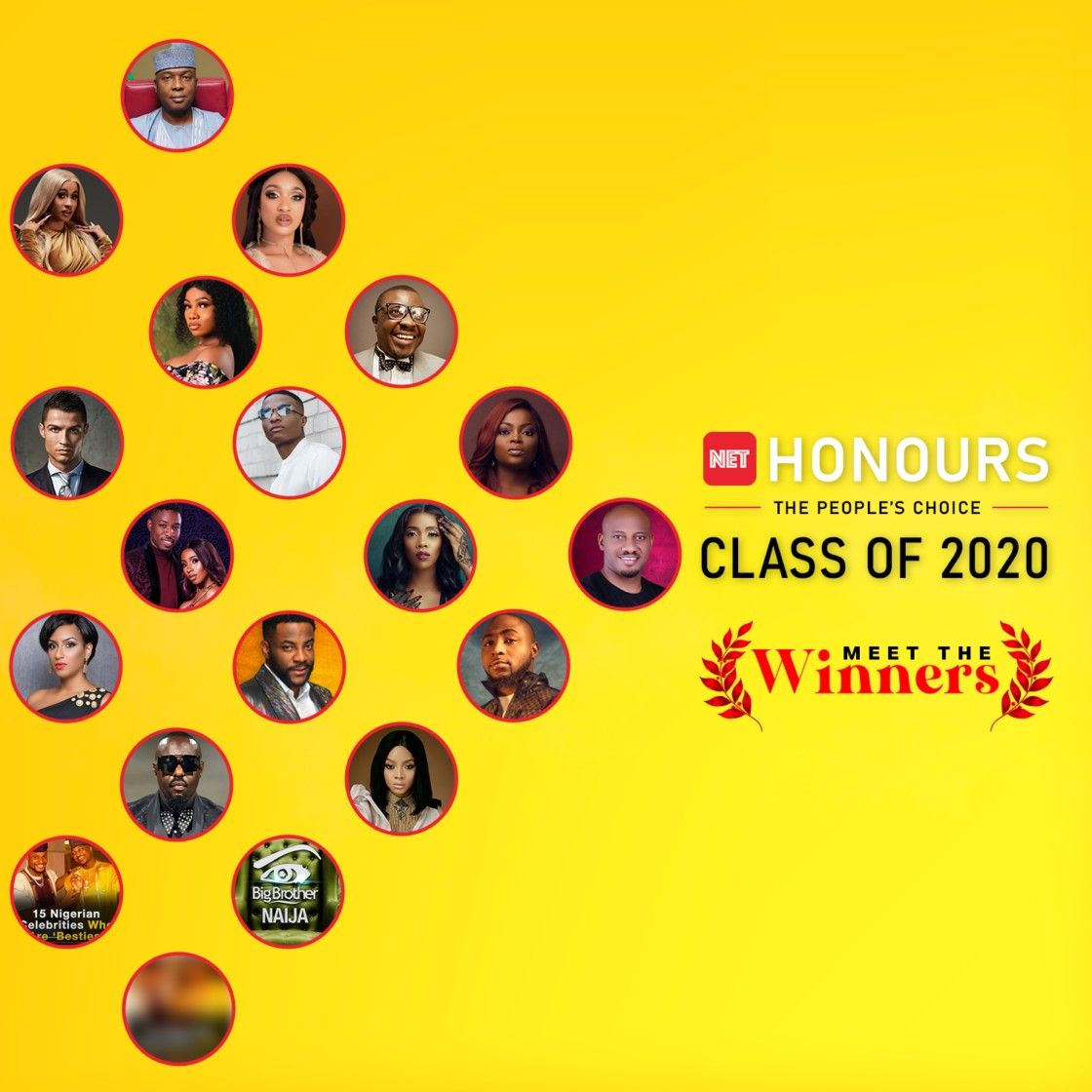 NET HONOURS 2020 See the Full List of The Winners in 2020