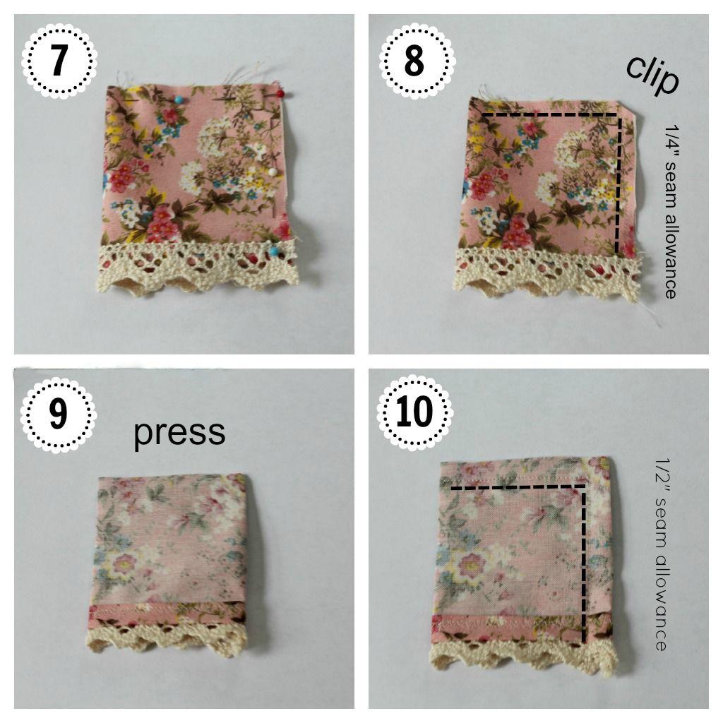 DIY: Lace Edge Pillow Case