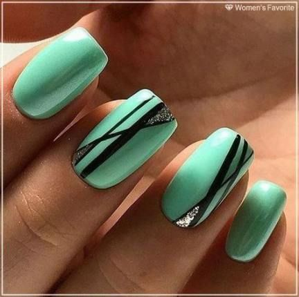 23 ideas nails colors acrylic green for 2019 nails
