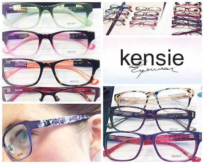Kensie Eyewear - new product sneak peak | GLASSES. | Pinterest ...