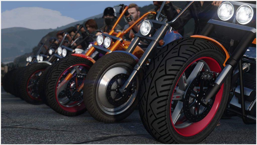 GTA V Game Biker Wallpaper