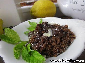 Шоколадный десерт в собственном соку - Выпечка,тортики и прочее - Кулинарные рецепты ! - ФотоКулинария