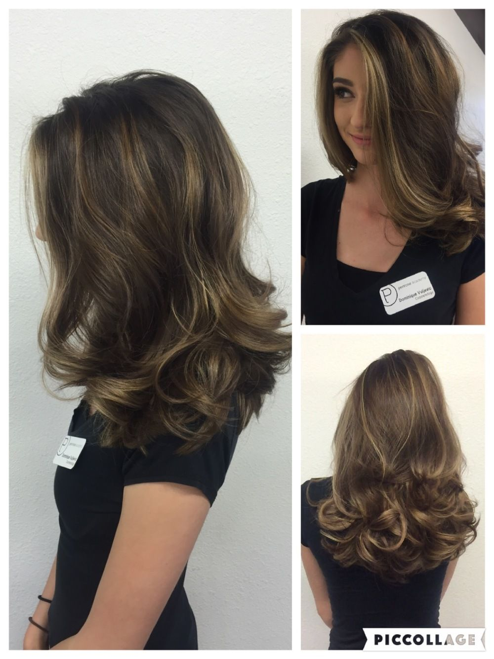 Inspiration By Amanda Flanagan From Penrose Academy Blow Dry Hair Curls Curly Blowdry Long Hair Blowout Hair