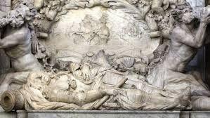 Direct na zijn overlijden worden zijn ingewanden door de scheepsarts verwijderd en bij Syracuse (Sicilië) begraven. De rest van het lichaam van De Ruyter wordt, gebalsemd met kruiden en brandewijn, en in een loden kist terug naar Nederland gevaren. Op 18 maart 1677 wordt De Ruyter begraven in de Nieuwe Kerk in Amsterdam. De plechtigheid duurt vier uur en is groots en indrukwekkend. Er zijn honderden gasten Duizenden toeschouwers zijn op de been om de zeeheld de laatste eer te bewijzen.