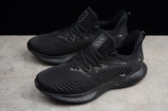 Adidas Alphabounce Hpc Ams 3M Triple Black Ac8271 2018 Genuine Shoe ... 955b0b6e7d82