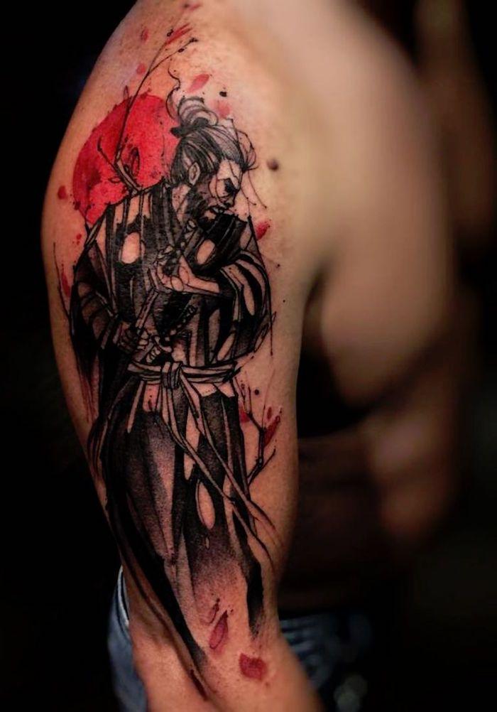 Tatouage Samourai Le Tattoo Des Guerriers Tattoos Pinterest