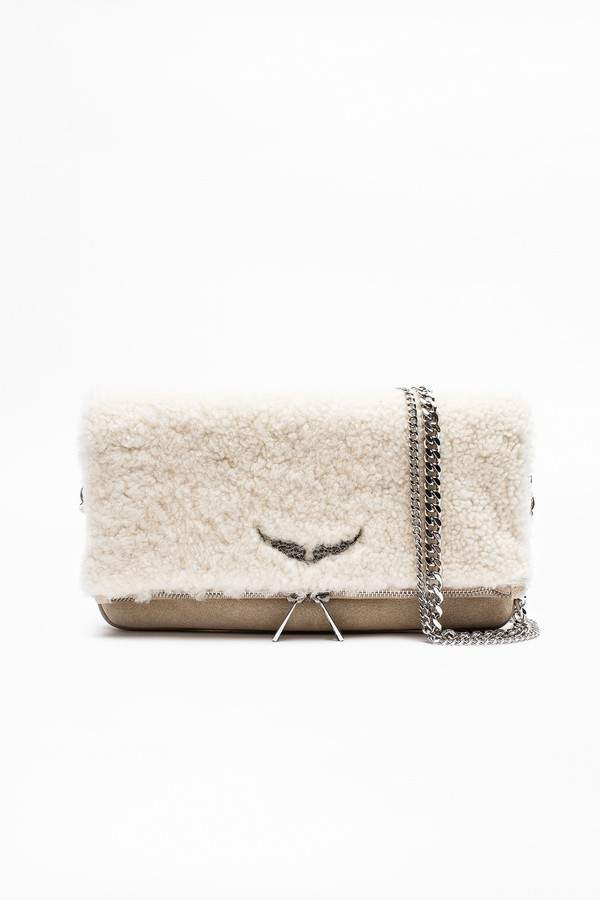 3e7e73246 Zadig & Voltaire Zadig Voltaire Rock Shearling Bag | Products in ...