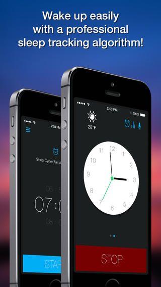 Top Iphone Game 17 Smart Alarm Clock Sleep Cycles Night Sounds Recording Plus Sports By Plus Sports 03 11 2014 App Alarm Clock Sleep