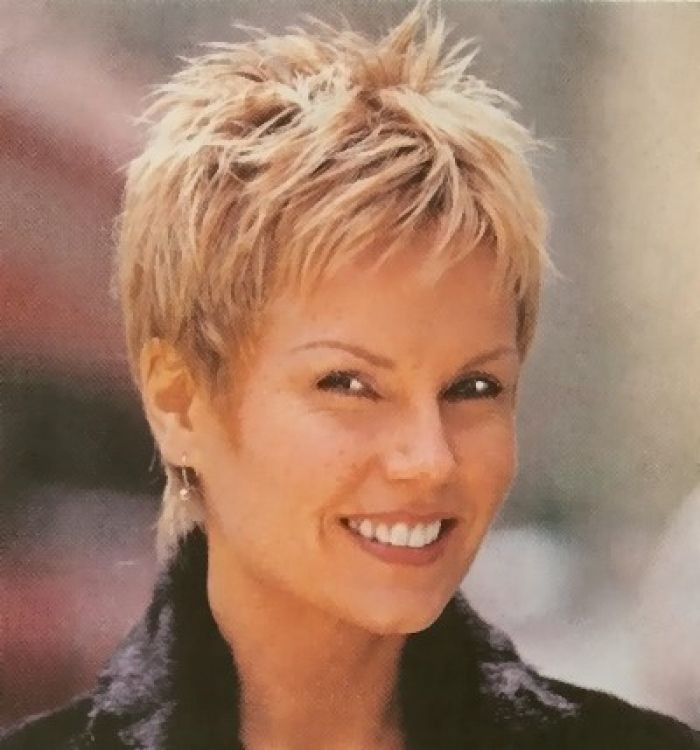 Pinterest Short Spiked Hair Short Hair Styles For Women Over 50 Haircuts Have Regularly Design Very Short Hair Short Thin Hair Short Hair With Layers