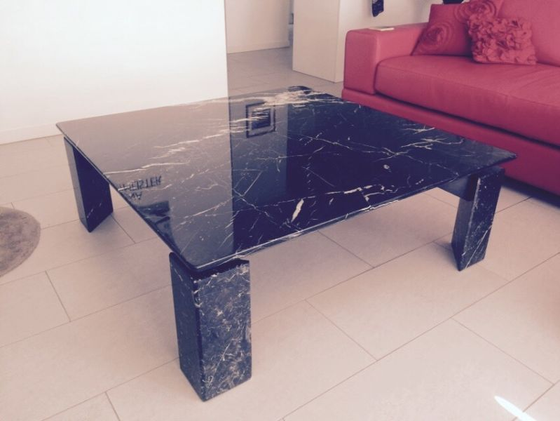 Large Black Marble Coffee Table Coffee Tables Gumtree