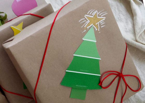 How to Wrap Christmas Gifts in Garden Style Christmas gifts and Wraps